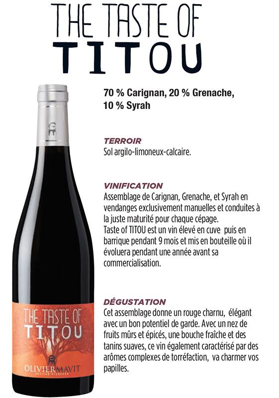the taste of titou vin corbieres